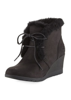 UGG Jeovana Lace-Up Wedge Bootie