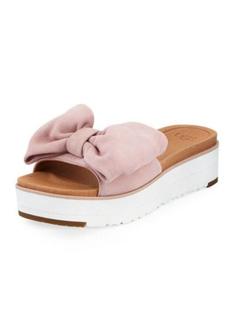 26c279c9507 UGG Joan Platform Bow Sandal