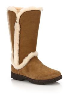 UGG Katia Suede, Shearling & Faux Fur Boots