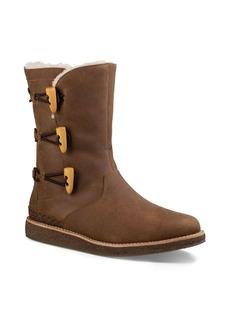 UGG� Kaya Leather and Sheepskin Toggle Booties