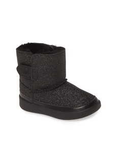 UGG® Keelan Glitter Genuine Shearling Boot (Baby, Walker & Toddler)