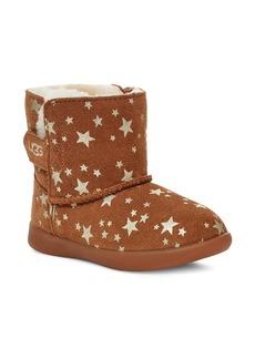 UGG® Kids' Keelan Stars Genuine Shearling Boot (Baby, Walker & Toddler)
