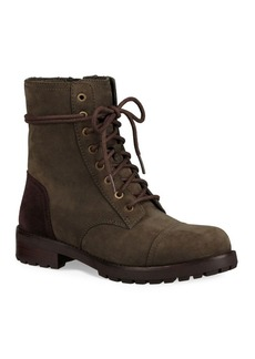 UGG Kilmer Lace-Up Leather Booties