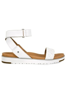 UGG Laddie Leather Ankle Strap Sandals