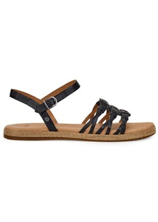 UGG Larisa Leather Ankle Strap Sandals