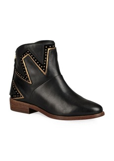 UGG Lars Studded Leather Booties