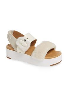 UGG® Le Fluff Flatform Sandal (Women)