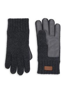 Ugg Logo Wool-Blend Gloves