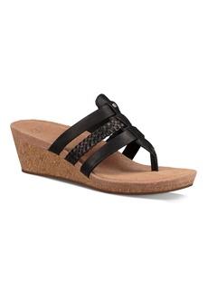 UGG� Maddie Cork Wedge Leather Sandals