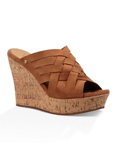 "UGG® ""Marta"" Wedge Slide Sandals"