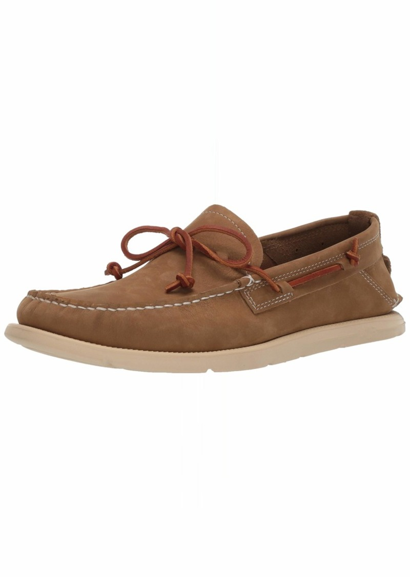 UGG Men's Beach MOC Slip-ON Boat Shoe   Medium US