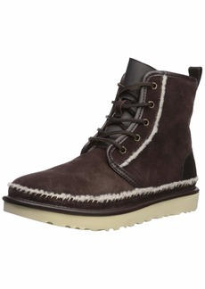 UGG Men's HARKLEY Stitch Chukka Boot   Medium US