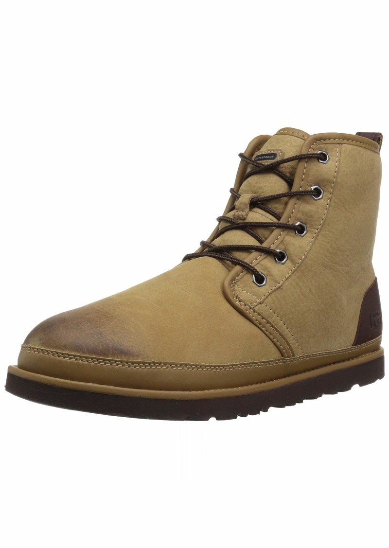 UGG Men's HARKLEY Waterproof Chukka Boot Desert tan  Medium US