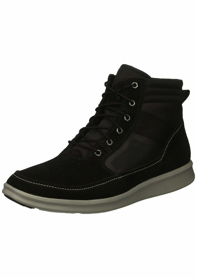 UGG Men's Hepner Field Boot Sneaker black  Medium US