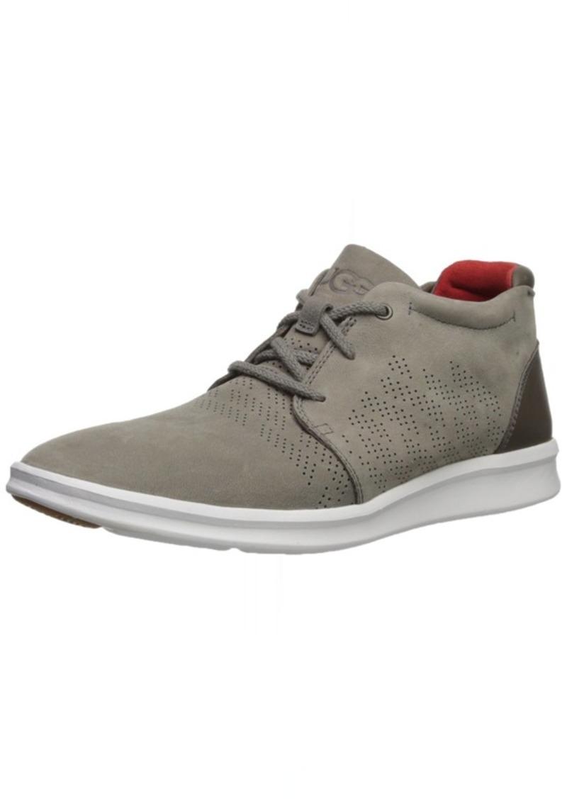 UGG Men's Larken Stripe Perf Sneaker mole  M US