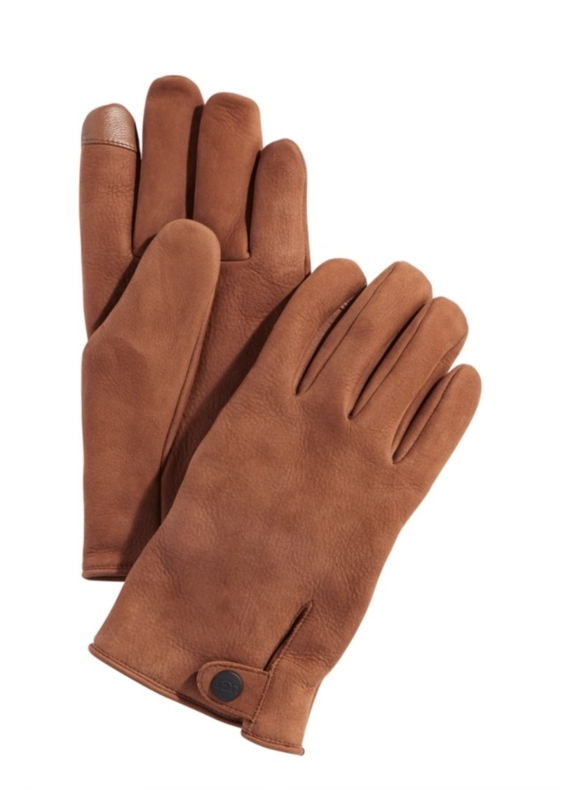 Ugg Men's Leather Tech Gloves