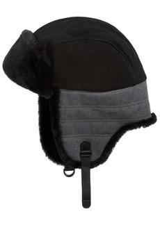 Ugg Men's Mixed-Media Trapper Hat