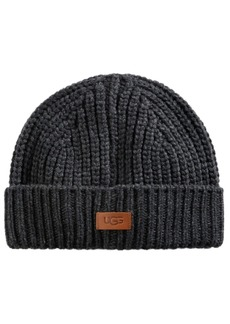 Ugg Men's Ribbed-Knit Cuffed Hat