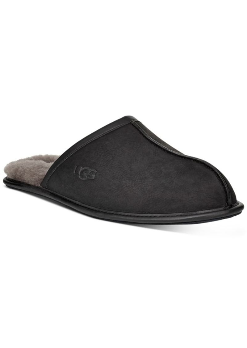 Ugg Men's Scuff Leather Loafers Men's Shoes