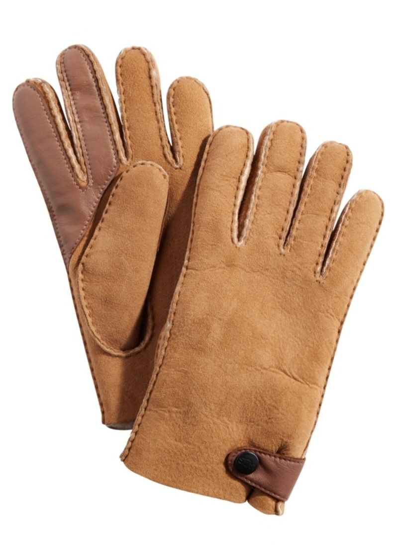 Ugg Men's Sheepskin Tech Gloves