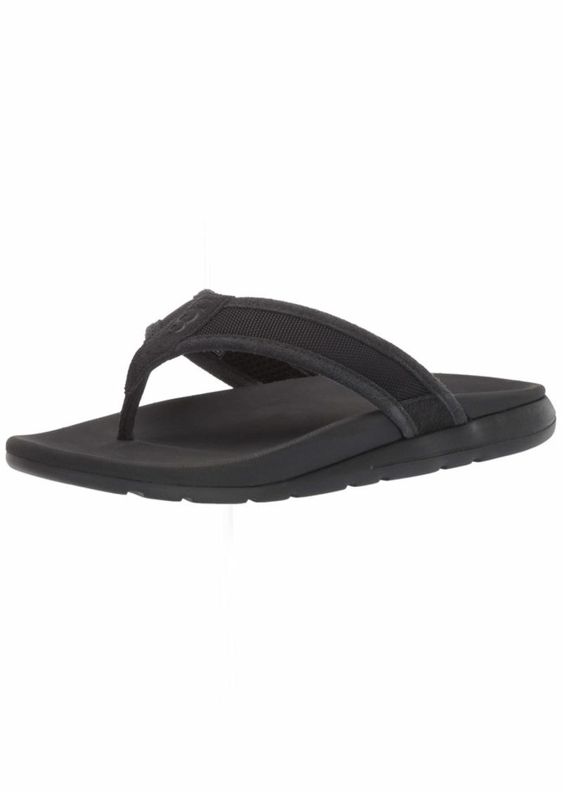 UGG Men's TENOCH Ballistic Sandal Flip-Flop   Medium US