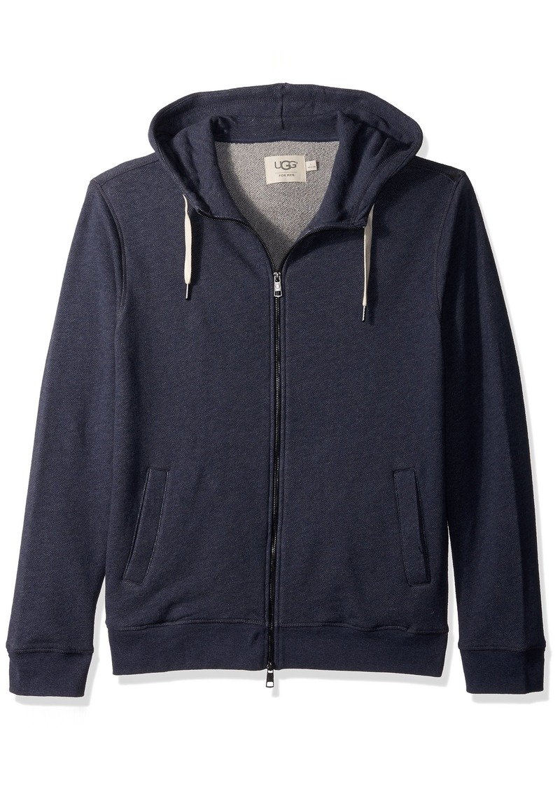 UGG Men's Terry Knit Full Zp Hoodie  M