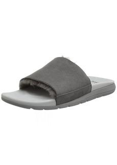 UGG Men's Xavier TF Slide Sandal charcoal  M US