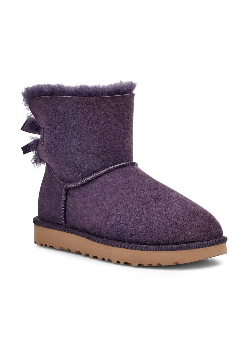 UGG® Mini Bailey Bow II Genuine Shearling Bootie (Women)