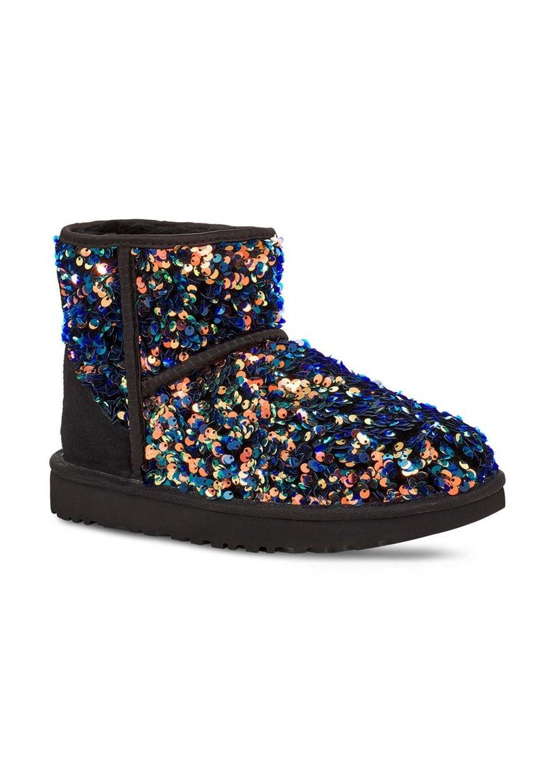 UGG® Mini Classic Stellar Sequin Boot (Women)