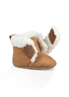 UGG® Mini Faux Shearling Bootie (Baby & Walker)