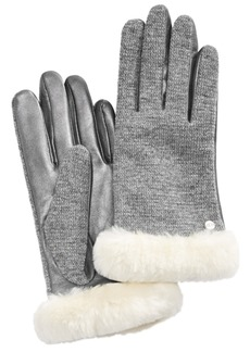 Ugg Mixed Media Shorty Touch Gloves