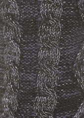 UGG® Pom Metallic Fleece Lined Crew Socks