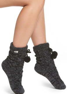 UGG® Pom Pom Fleece Lined Socks