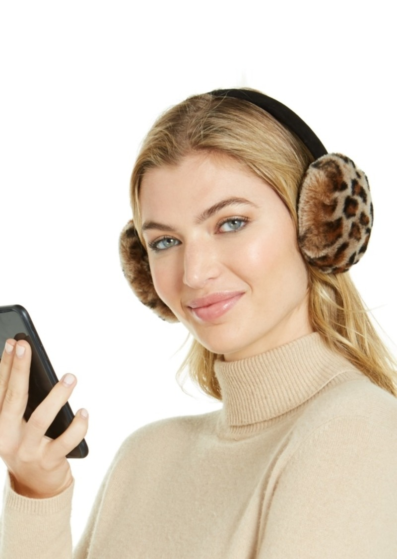 Ugg Printed Shearling Bluetooth Earmuffs
