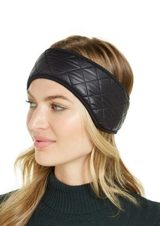 Ugg Quilted Faux-Fur-Trim All Weather Headband