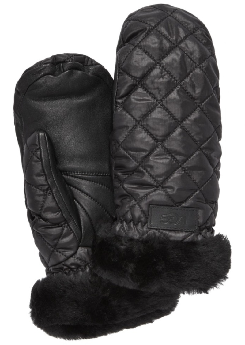 Ugg Quilted Shearling Performance Mittens