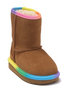 UGG Rainbow Genuine Shearling Lined Boot (Toddler)