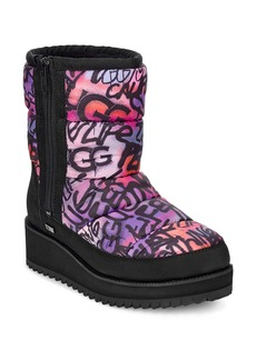 UGG® Ridge Graffiti Pop Waterproof Boot (Women)
