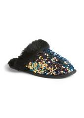 UGG® Scuffette II Stellar Sequin Genuine Shearling Slipper (Women)