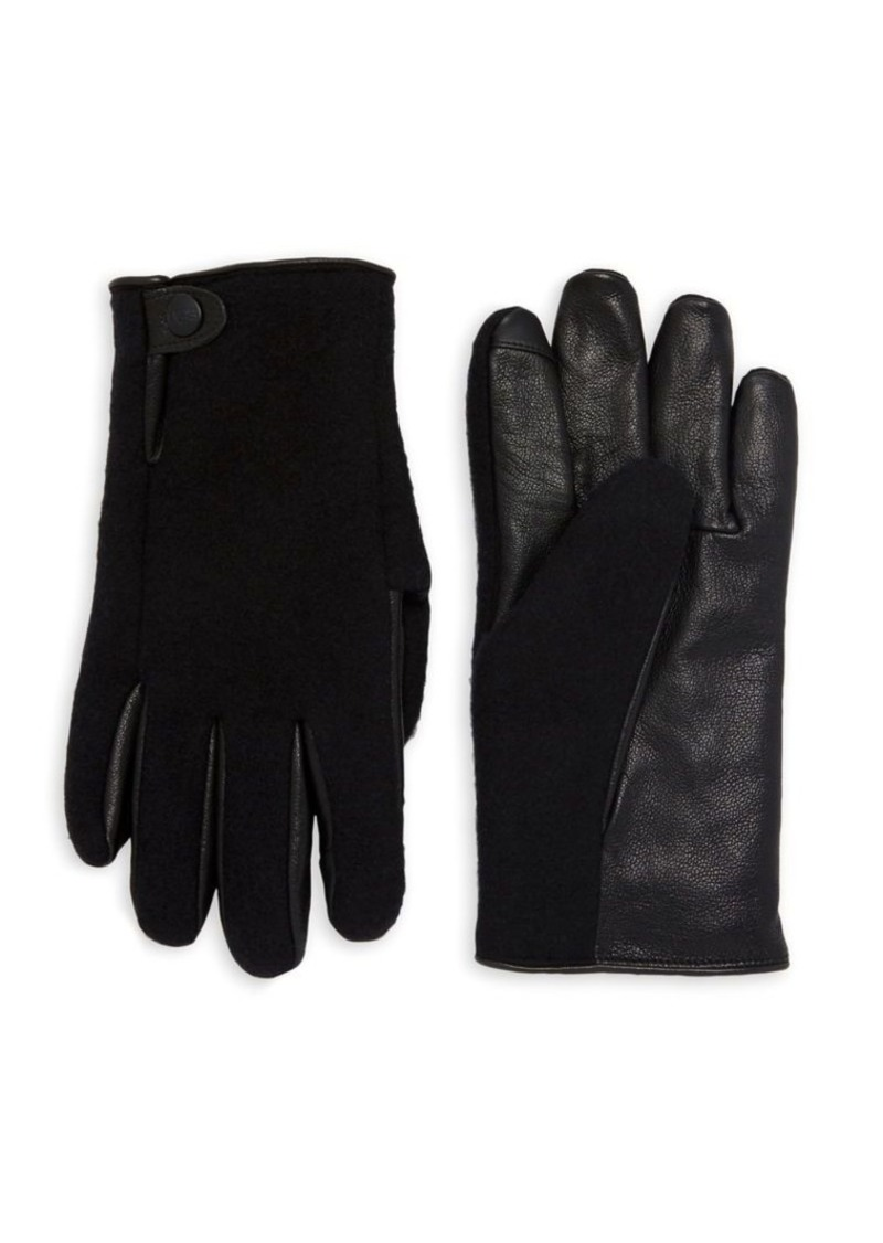 Ugg Snap-Tab Gloves