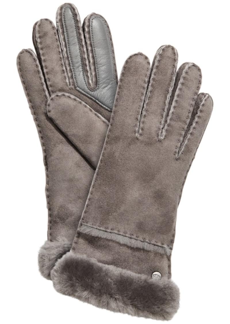 Ugg Stitched Slim Tech Gloves