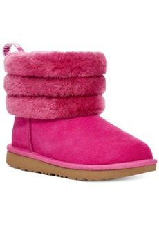 Ugg Toddler Girls Fluff Mini Quilted Boots