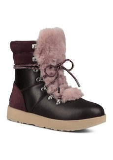 UGG� Vicki Waterproof Leather & Sheepskin Boots
