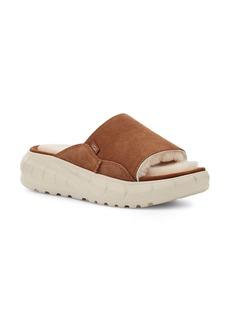 UGG® Westsider Genuine Shearling Lined Slide Sandal (Women)