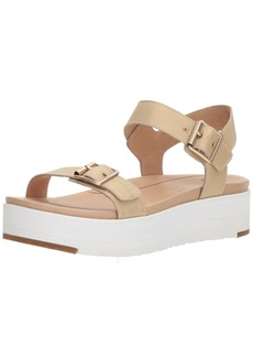 UGG Women's Angie Metallic Wedge Sandal