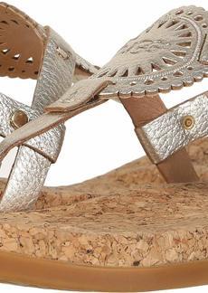 UGG Women's Ayden II Metallic Flat Sandal   M US