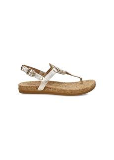 Ugg Women's Ayden II Metallic Sandal