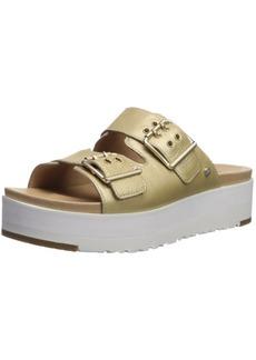 UGG Women's Cammie Metallic Wedge Sandal
