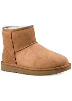 Ugg Women's Classic Mini Ii Genuine Shearling-Lined Boots