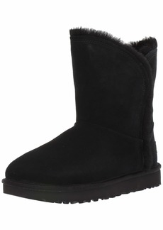 UGG Women's Classic Short Fluff HIGH-Low Fashion Boot   M US